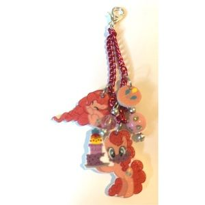 My little pony pinky pie Purse Zip Charm